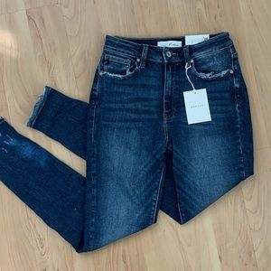 NWT KanCan Dark Wash High Rise Skinny Jeans, 9/28
